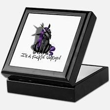 Ima Fuckin Unicorn /Black Keepsake Box