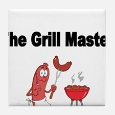 The Grill Master 2 Tile Coaster