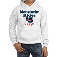FREE Moustache Rides! Hoodie