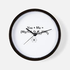 Cummingtonite Wall Clock