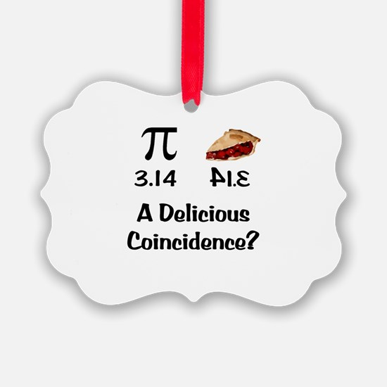 Pi Coincidence Ornament
