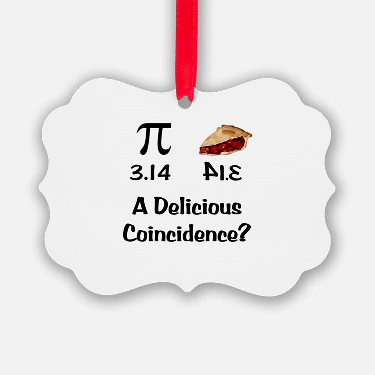 Pi Coincidence Ornament