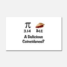 Pi Coincidence Car Magnet 20 x 12