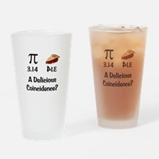 Pi Coincidence Drinking Glass