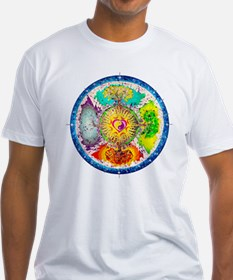 Four Seasons Mandala T-Shirt