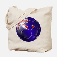 New Zealand Soccer Ball Tote Bag