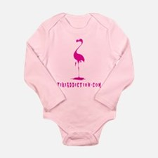 PINK FLAMINGO - ALL Body Suit