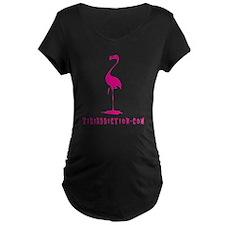 PINK FLAMINGO - ALL Maternity T-Shirt