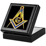 The Glow of the Freemasons Keepsake Box
