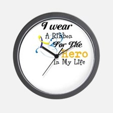 Down syndrome Hero Wall Clock