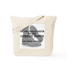 AF Grandma Granddaughter wears CB Tote Bag