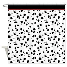 Dalmatian Animal Print Shower Curtain