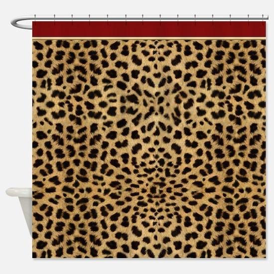 Cheetah Animal Print copy Shower Curtain