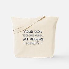 Aegean Cat designs Tote Bag
