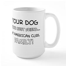 American Curl Cat designs Mug