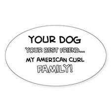 American Curl Cat designs Decal