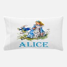 ALICE IN WONDERLAND - BLUE Pillow Case