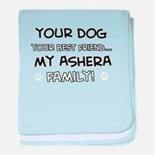 Ashera Cat designs baby blanket