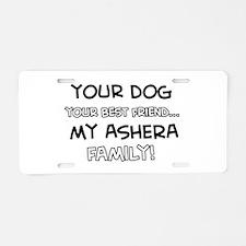 Ashera Cat designs Aluminum License Plate