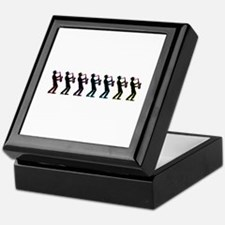 Saxophone Players Keepsake Box