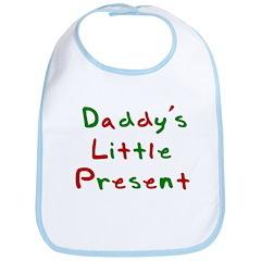 Daddy's Little Present Bib