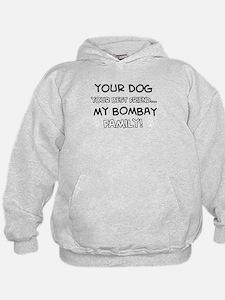 Bombay Cat designs Hoodie