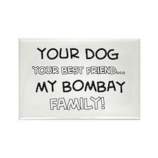 Bombay Cat designs Rectangle Magnet