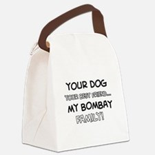 Bombay Cat designs Canvas Lunch Bag