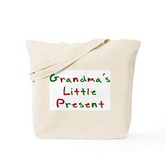 Grandma's Little Present Tote Bag