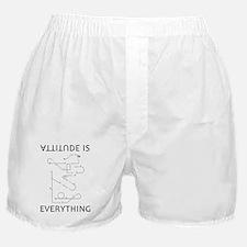 Attitude is EVERYTHING Boxer Shorts