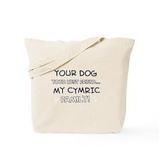 Cymric Cat designs Tote Bag
