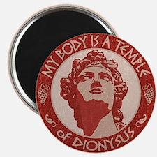 Temple of Dionysus Magnet