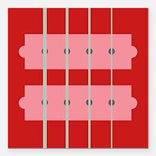 "EADGquality Square Car Magnet 3"" x 3"""