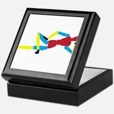 Colorful Mannequin Keepsake Box
