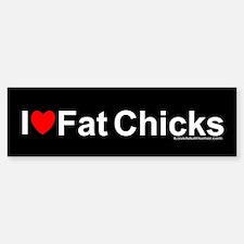 Fat Chicks Sticker (Bumper)