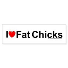 Fat Chicks Bumper Sticker