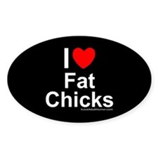 Fat Chicks Decal