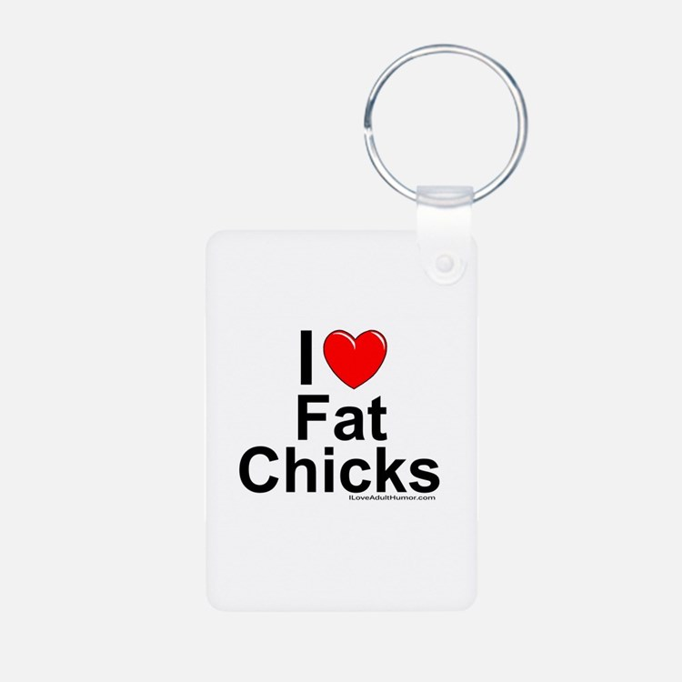 Fat Chicks Keychains