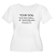 Egyptian Mau Cat designs T-Shirt