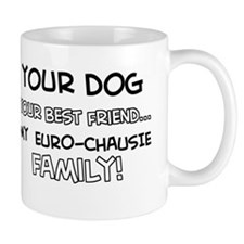 Euro Chausie Cat designs Mug