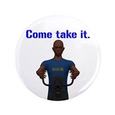 "Molon Labe (Gatling, Male) 3.5"" Button (100 pack)"