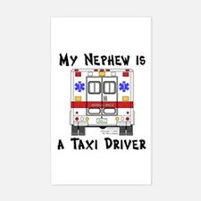Taxi Driver Nephew Rectangle Decal