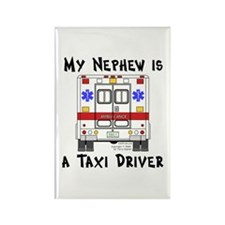 Taxi Driver Nephew Rectangle Magnet