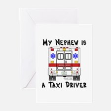 Taxi Driver Nephew Greeting Cards (Pk of 10)