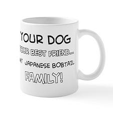 Japanese bobtail Cat designs Mug