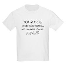 Japanese bobtail Cat designs T-Shirt