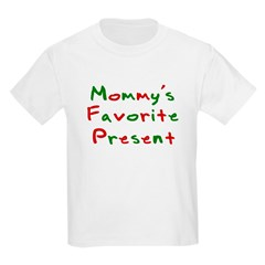 Mommy's Favorite Present Kids T-Shirt