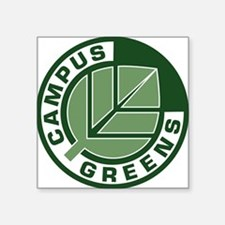 Campus Greens Rectangle Sticker