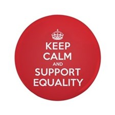 "K C Support Equality 3.5"" Button"