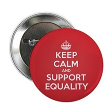 """K C Support Equality 2.25"""" Button"""
